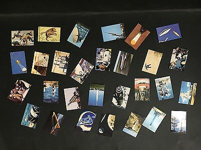 NESTLES SPACE CLUB CARD LOT OF 29 FROM 1950's