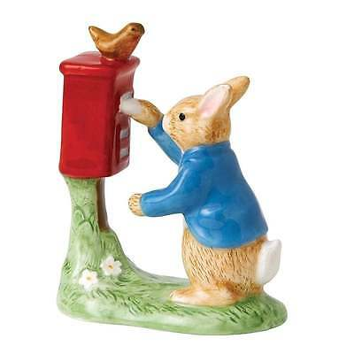 Beatrix Potter Peter Rabbit Posting A Letter Figurine New Boxed A26153