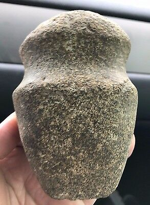 Killer Authentic Spencer Co Indiana Full Grooved Axe Ax Tool Indian Artifact