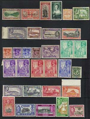 Commonwealth M/m King George Vi Selection
