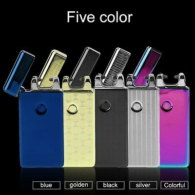 Pulse Arc Metal Creative Lighter USB Charging Lighter Cigarette Lighters LKCN