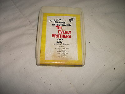 8 Track Tape - The Everly Brothers - Don & Phil's Fabulous Fifties Treasury