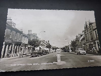 Vintage Postcard, High Street From West, Invergordon, 1959, Photographic