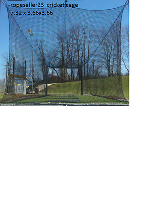 cricket net CAGE practice home club school 24' x 12' x 12' batting bowling NEW c