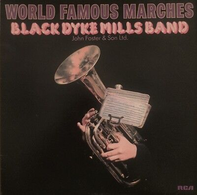 Black Dyke Mills Band - World Famous Marches ( Lp - 1978 )