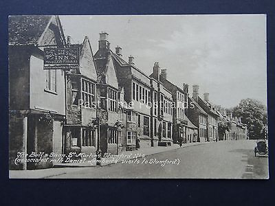 Lincolnshire STAMFORD The Bull & Swan St. Martins - Old Postcard by J. Nock