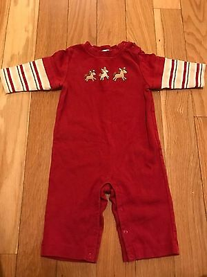 Gymboree baby boy one-piece with ponies 3-6 months