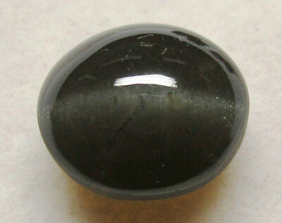 Natural Black cat's eye 5.28 ct. Ring / Pendant Style Cabochon / Sb11141