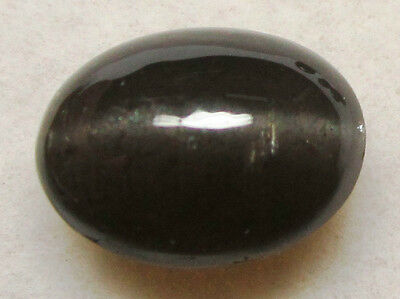 Natural Black cat's eye 4.20 ct. Ring / Pendant Style Cabochon / Sb11142