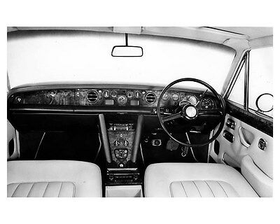 1975 Rolls Royce Silver Shadow Interior ORIGINAL Factory Photo ouc2903