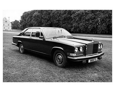 1975 Rolls Royce Camargue ORIGINAL Factory Photo ouc2905