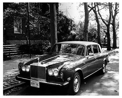 1977 Rolls Royce Silver Wraith II ORIGINAL Factory Photo ouc2913