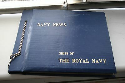 Navy News 'Ships of the Royal Navy' Album with Multiple Photos of Submarines