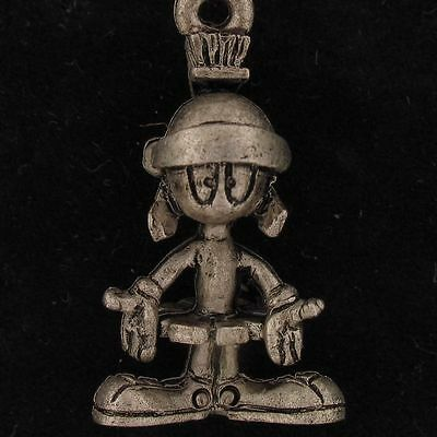 CHARM Marvin The Martian WARNER BROS LOONEY TUNES WB STORE Pewter NEW 4189