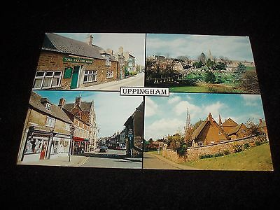 Uppingham  4 Scenes Rutland Collector Postcard Unposted Numbered.rt-0044...