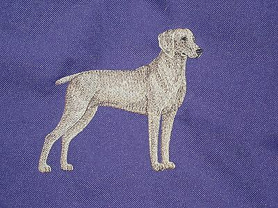 Embroidered Sweatshirt - Weimaraner C4892 Sizes S - XXL