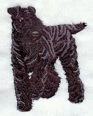 Embroidered Sweatshirt - Kerry Blue Terrier I1207 Sizes S - XXL
