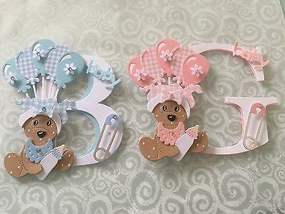 Baby Boy And Girl Card Toppers