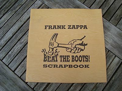 Frank Zappa - Beat The Boots Scrapbook - Book Only