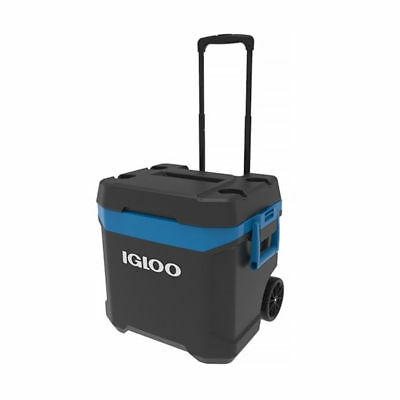 Igloo MaxCold New Island Breeze 62 Quart Rolling Cool Box - Ice Cooler