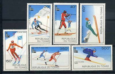 17-02-05344 - Chad 1979 Sass.  877-882 MNH 100% Sport Culture Olympic games