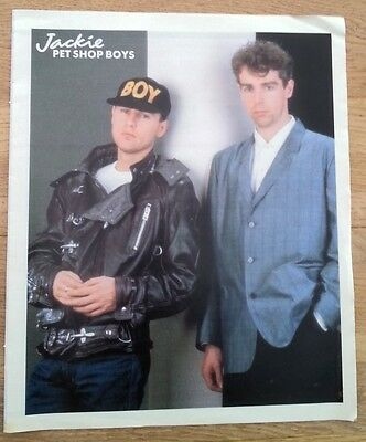 PET SHOP BOYS 'leaning' magazine PHOTO/Poster/clipping 12x10 inches