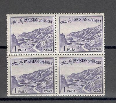 R7232 - Pakistan 1961 - Quartina ** - Vedi Foto