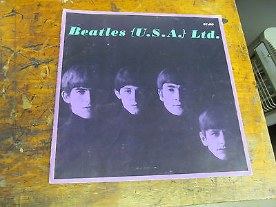 BEATLES (U.S.A.) Ltd tour book VG+ 2nd printing