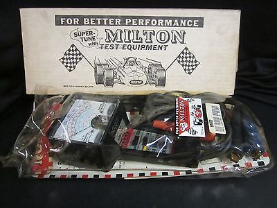 Auto Test Equipment - 1969 - Lightly Used  Milton Tune Up Tester #1200