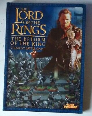 The Lord of the Rings RETURN OF THE KING  battle strategy RULEBOOK    free post