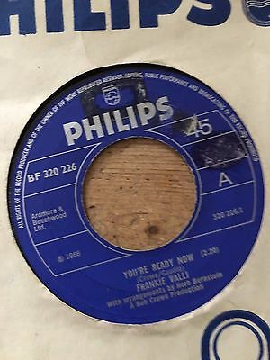 NORTHERN SOUL frankie valli  'youre ready now' uk