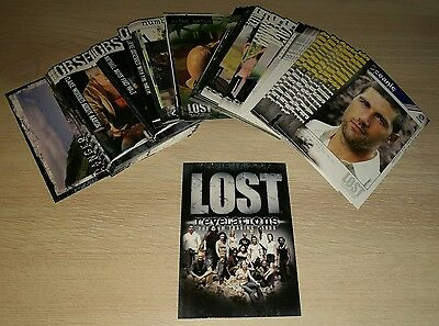 Lost Revelations Trading Cards The Complete Base Set.