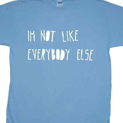 'I'm pas Comme Everybody Else' T-Shirt inspiré par The Kinks (Ray Davies)