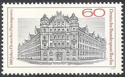 Germany (B) 1977 Patent Office/Building/Architecture/Bus/Lorry/Truck 1v (n41172)