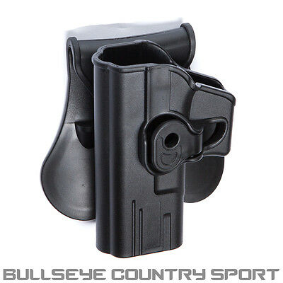 Strike Systems Polymer Molded Holster G Series Black Left Handed 18214 Airsoft