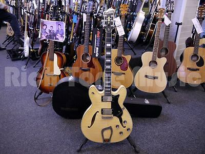 Hagstrom Viking Deluxe - Natural w/ Dimarzio Pickups &Hard Case - 2nd Hand