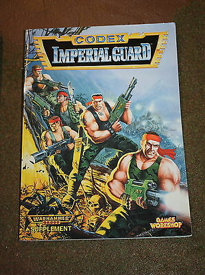 Superb Condition Imperial Guard Oop Warhammer 40K Book Codex