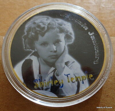 Shirley Temple  1 oz .gold plated Commemorative COIN  #7