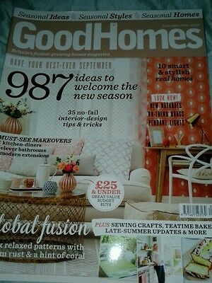 GOOD HOMES Magazine - September 2016 issue