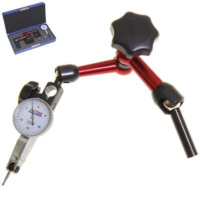 Uni Mill Center Positioner + Test Indicator 0-15-0 3D for Mill Flexible Holder