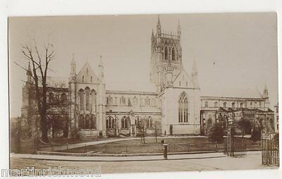 Worcester Cathedral Real Photo Postcard, B484