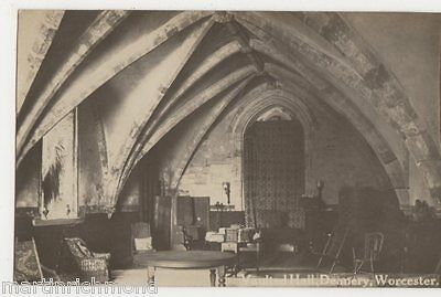 Worcester, Vault Hall, Deanery Real Photo Postcard, B484