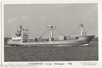 Klosterfelde Cargo Allemagne Shipping RP Postcard, B541