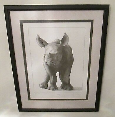 """*extremely Rare* Gary Hodges Signed Limited Edition Print """"wobbly"""" 505/995"""