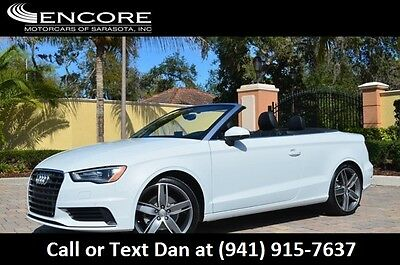 2015 Audi A3 2dr Cabriolet FWD 1.8T Premium Plus W/Navigation 2015 A3 Convertible Premium Plus W/Navigation 1 FL Owner Only 5K Miles Like New!