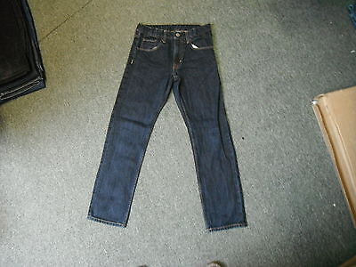 "And & Slim Jeans Waist 26"" Leg 25.5"" Faded Dark Blue Boys 10/11 Yrs Jeans"