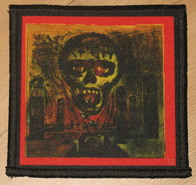 """SLAYER """"SEASONS IN THE ABYSS"""" silk screen PATCH"""