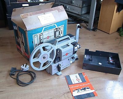 Vintage Vintage Eumig Mark M Super Cine Film Projector For Spares Repair.