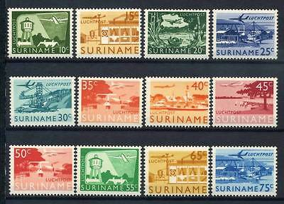 17-02-05154 - Surinam 1965 Sass.  462-473 MNH 100% Country Culture