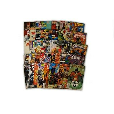 50 Marvel and DC Premium Comic Collection